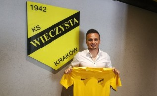 Reprezentant Polski Sławomir Peszko to nowy nabytek KS Wieczysta Kraków
