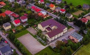 Szkoła Podstawowa w Tomicach przu ulicy Floriańskiej/ Archiwalne