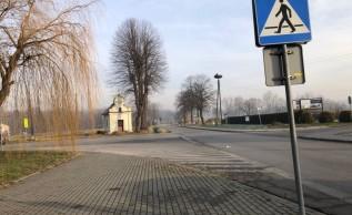 Do kolizji doszło na ulicy Wadowickiej we Fryfrychowicach