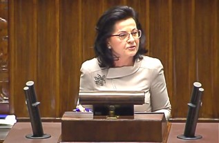 Projekt ustawy w Sejmie przedstawiała posłanka PiS Anna Paluch