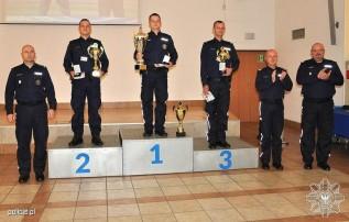 Mł. asp. Dominik Para zajął drugie miejsce