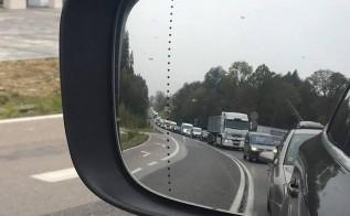 Korki na lokalnych drogach