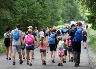 W Tatrach wakacje bardzo dobre, turystów nie zabrakło