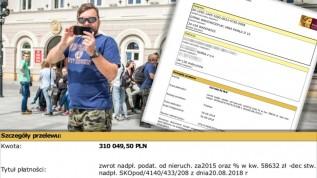 .Mamy potwierdzenie, że spółka która wygrała z gminą Wadowice w sprawie niesłusznie naliczonych podatków odzyskała swoje pieniądze.