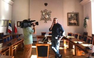 """Wadowice kolejnym przystankiem programu telewizyjnego """"Z Andrusem po Galicji"""""""