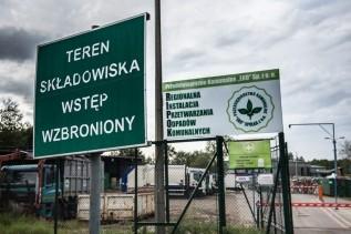Wysypisko śmieci Eko w Choczni