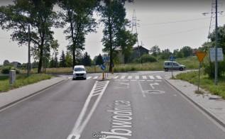 W godzinach szczytu na tym skrzyżowaniu stoją w korku dziesiątki aut