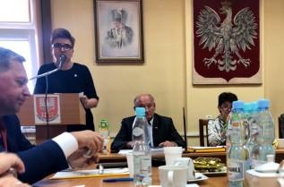Maria Wisińska - Kurz, dyrektor zarządu zlewni w Żywcu Wód Polskich