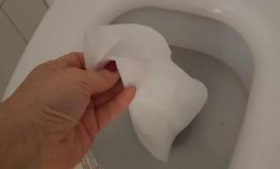 """Ważny komunikat w Wieprzu: """"Nie wyrzucać ręczników do wycierania wymion krów"""""""