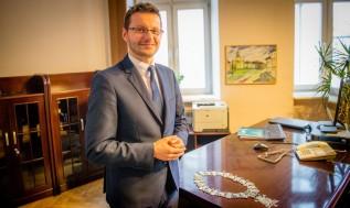 Burmistrz Wadowic Bartosz Kaliński