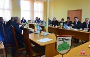 Samorządowcy powiatu wadowickiego