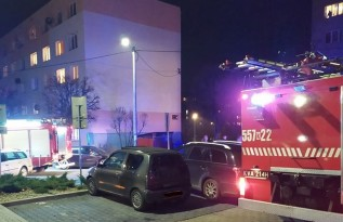 Interwencja strażaków na ulicy Metalowców w Andrychowie