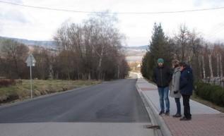 W Mucharzu wyremontowano ważną ulicę
