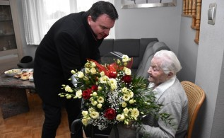 Wyjątkowy jubileusz pani Anny ze Spytkowic. Jedyna taka kobieta w gminie