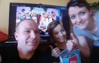Jacek Stuglik z rodziną lubią oglądać program Bake off, w którym bierze udział