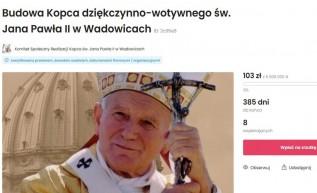 Założyli komitet społeczny i zbierają na kopiec Jana Pawła II w Wadowicach. Co to za pomysł?